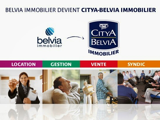 Belvia Immobilier devient Citya - Belvia Immobilier !