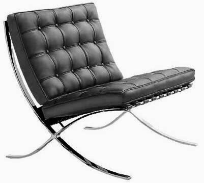 Silla barcelona historia del dise o industrial - Cadira barcelona ...