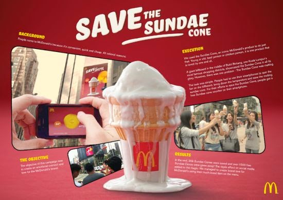 McDonalds, Save the Sundae cone