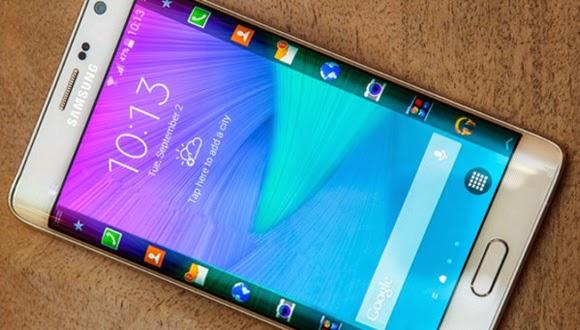 Come aggiungere testo allo schermo curvo Samsung Galaxy S6 Edge + Plus