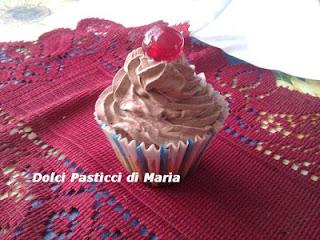 cupcakes con .... il cuore di cioccolato!