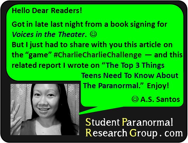 Student Paranormal Research Group: What You Should Know About the ...