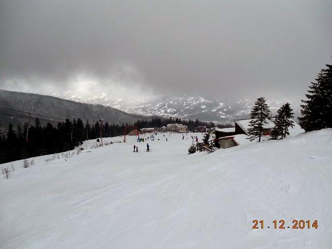 Prima ninsoare live la Straja in 2014