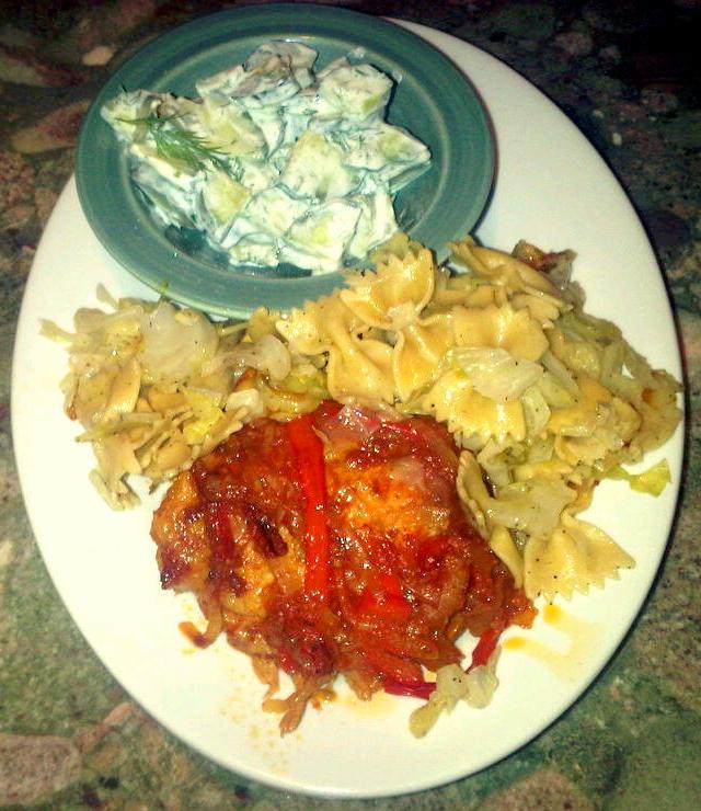 ... Cindy - Food, Fun, and more!: Csirke Paprikas aka Chicken Paprika