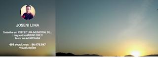 Google+ JOSENI LIMA - 86.475.547 visualizações (09/05/16)