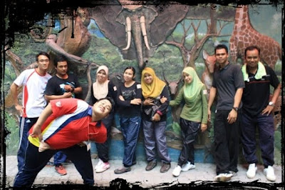 Kerja amal at Zoo Negara ♥ /█\ ♥/█\