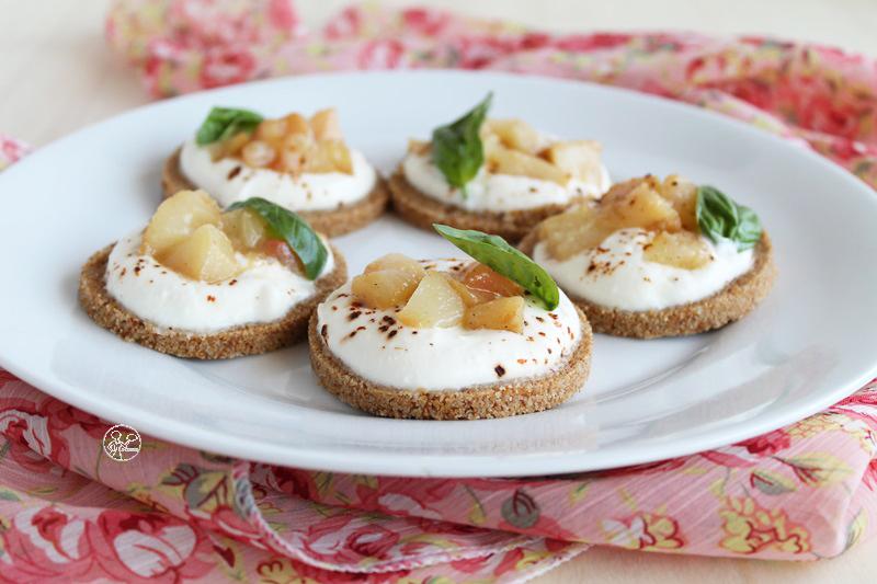 cheesecake salate senza glutine né lattosio