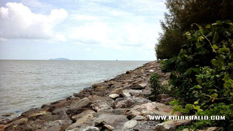 Panorama Bandar Pontian Johor, Pulau Pisang