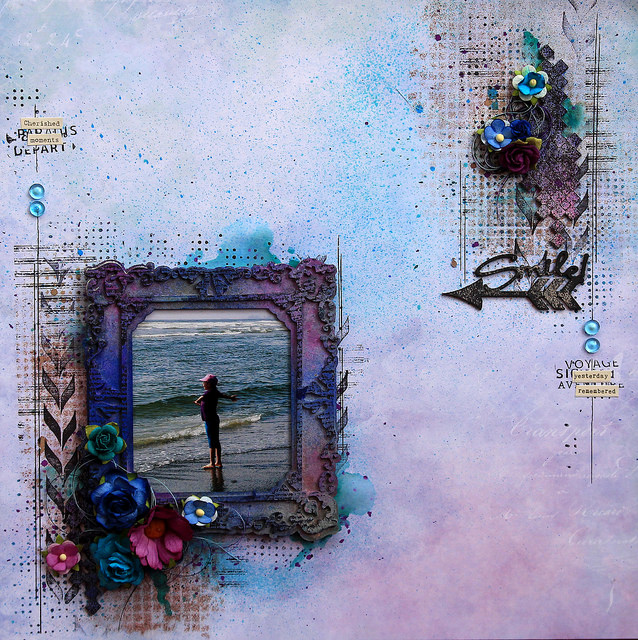 1er octobre - Sketch Blue Fern Studios d'octobre Marie-Josee
