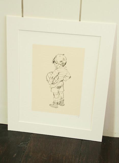 Belle & Boo | Children's Wall Art | Muddy Morning