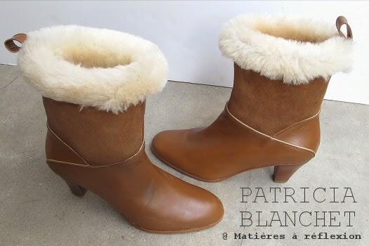 Boots fourrées Patricia Blanchet : Mémère