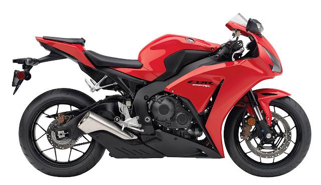 2012 honda cbr 1000rr red color