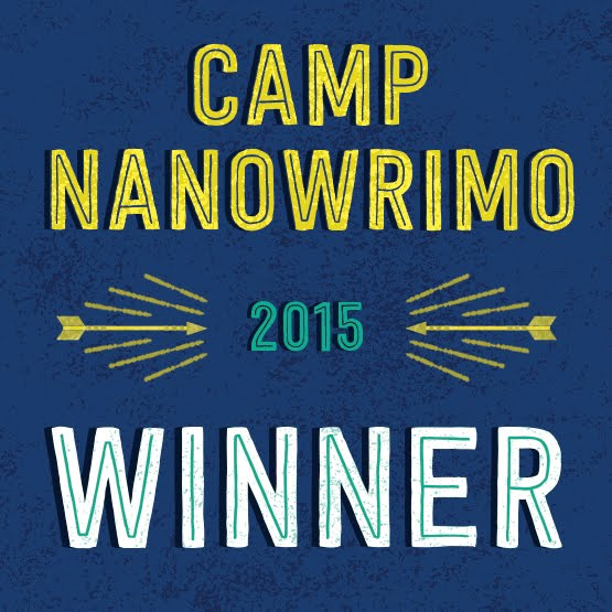 2015 Camp NaNoWriMo Winner