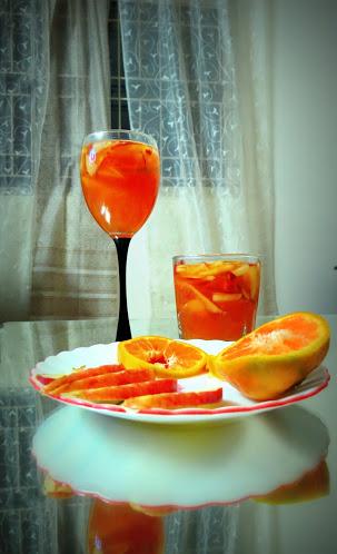 Sangria like Mocktail