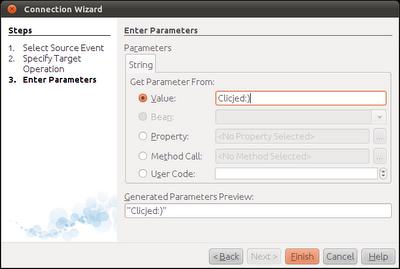 Enter Parameters