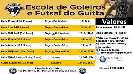Escola de Goleiros e Futsal do Guitta