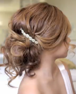 Wedding Updo Hair Tutorial