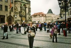 2012.5, 捷克布拉格——世界艺术之城。著名的钟楼。 (点击图片)