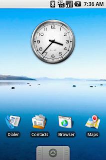 Tampilan Android 1.0