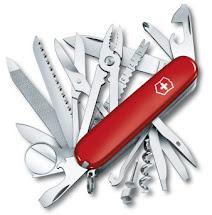 Swisschamp - O verdadeiro canivete do soldado suiço