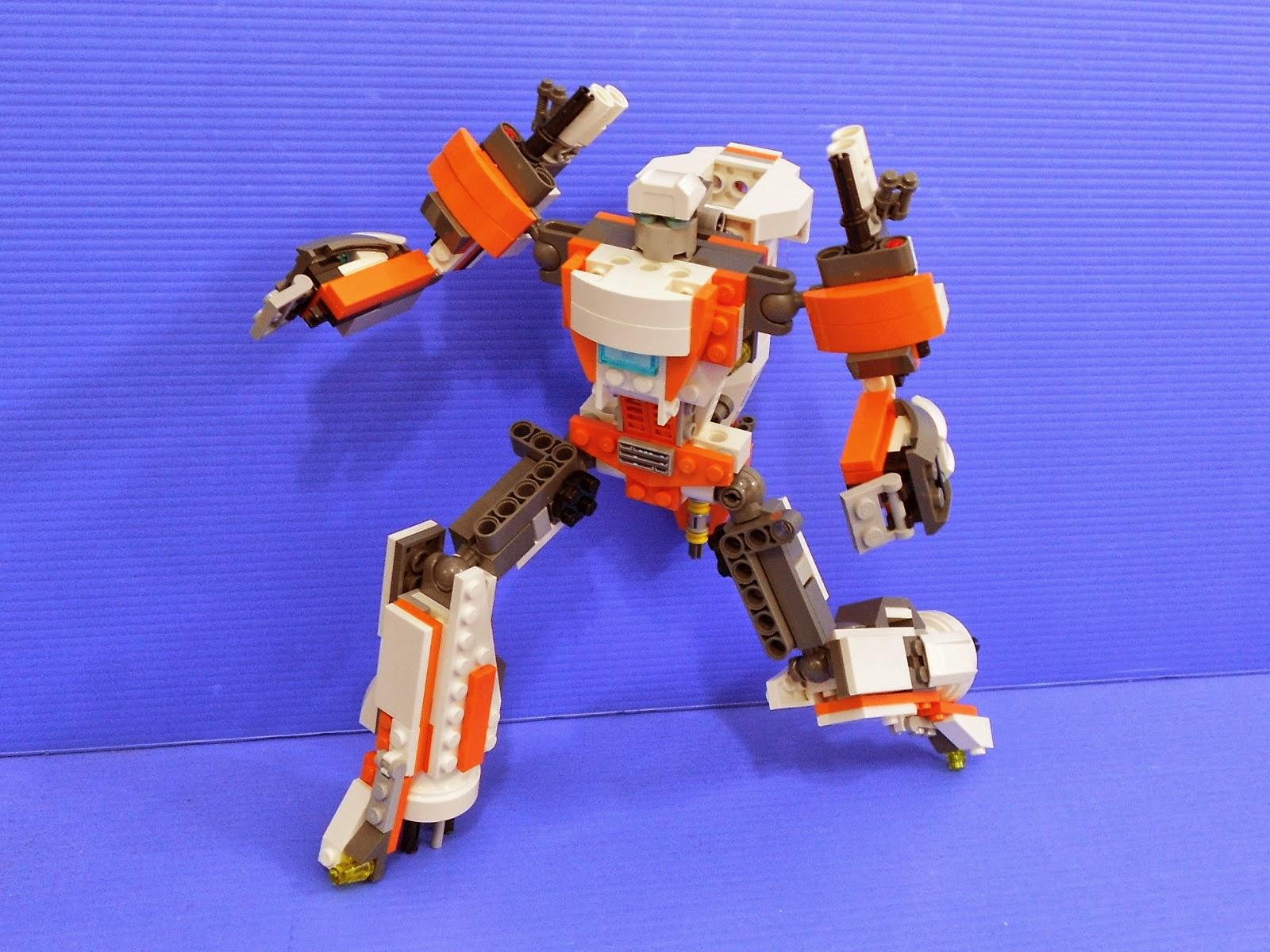 Alanyuppies Lego Transformers Lego 70707 Eradicator Mech Alternate