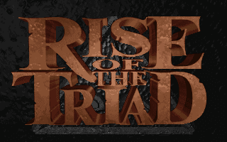 Rise of the Triad: Dark War title screen logo