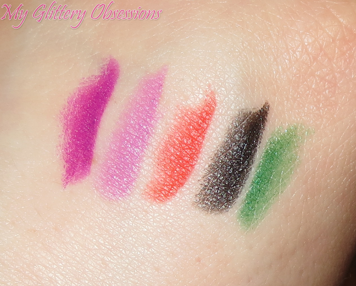 hand swatches