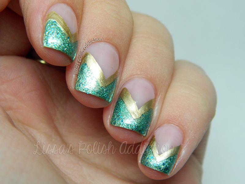 Lissa\'s Polish Addiction: Jasmine - Disney Princess Nail Art ...
