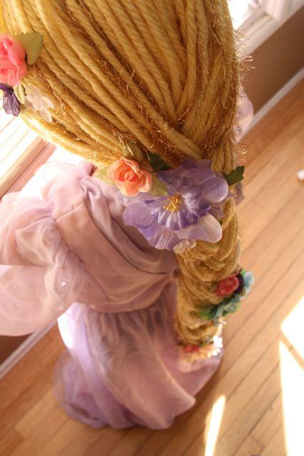 Рапунцель волосы своими руками