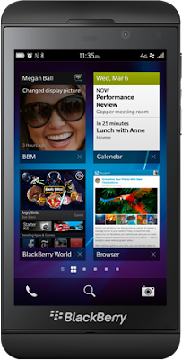 Blackberry Z10 now available in the Philippines