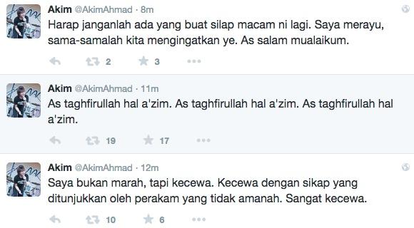 Akim Ahmad Kecewa Video Stacy Peluk Islam Tersebar
