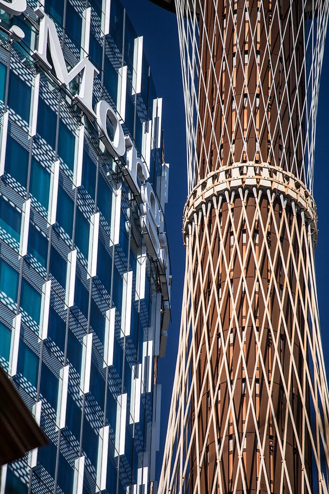 JP Morgan and Sydney Tower