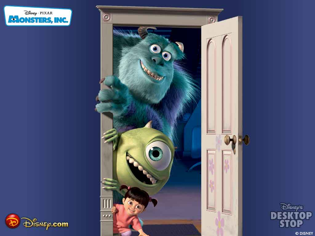 wallpapers of the movie monsters inc 3d everything