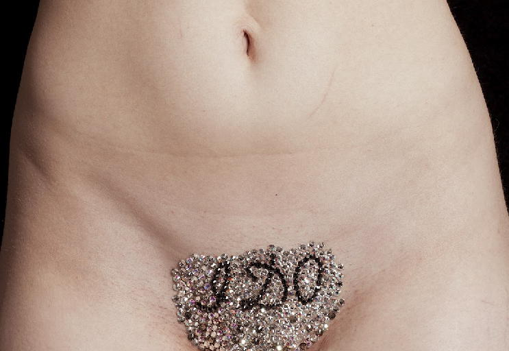 How did they come up with vajazzling. Did someone look at their ...