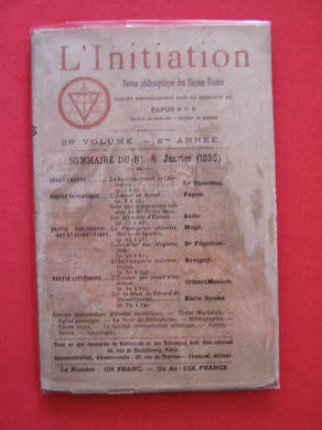 REVISTA L'INITIATION - Francesas