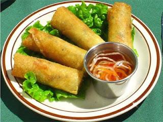 Vietnamese Vegetarian Eggrolls Recipe (Nem rán chay) 2
