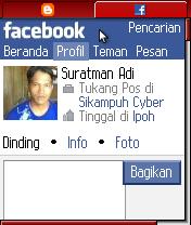 gambar cara menandai nama teman di facebook