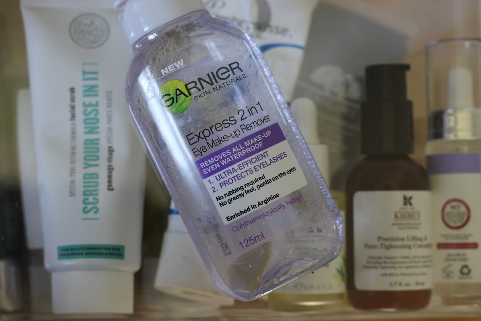Garnier Express 2 In 1 Eye Makeup Remover