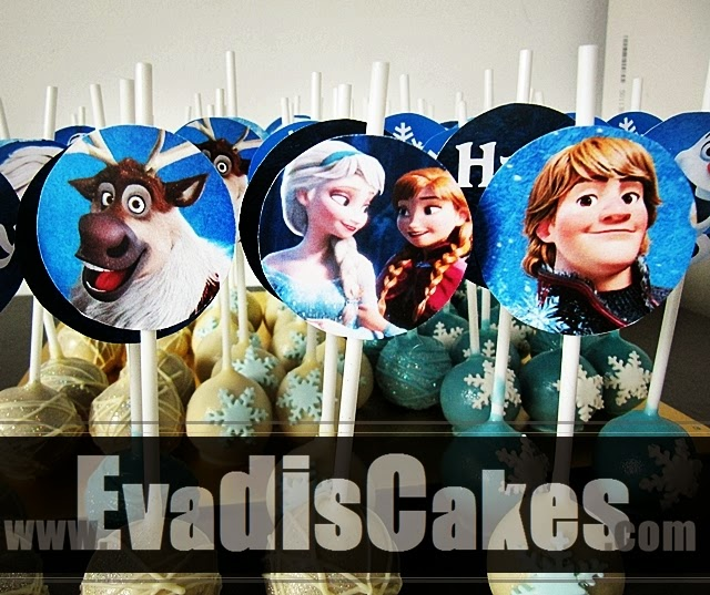 Other characters picture of Frozen cake pops