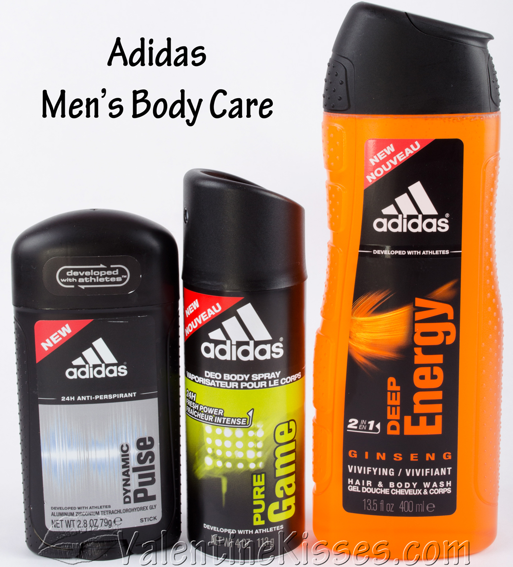 Valentine Kisses: Adidas Men's Body Care: 24H Anti ...