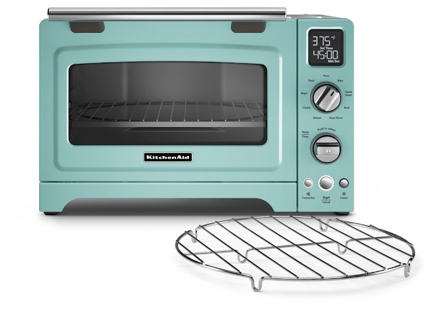 One thrifty chick 10 kitchen items every aqua lover needs to own - Kitchenaid oven gloves ...