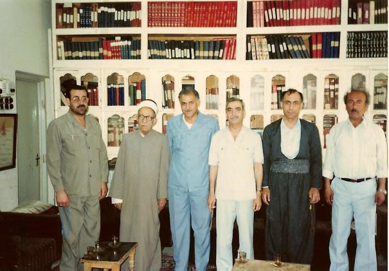 نوري المالكي .رشادالمفتي . محمد الطائي (أبويوسف). مهدي العبيدي .عدنان المفتي .عبدالغني يحيى