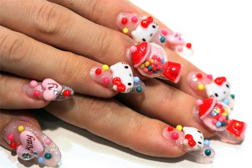 Gemma Burgess On Extreme Nail Art