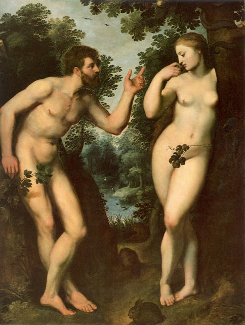 Adam,Eve,painting