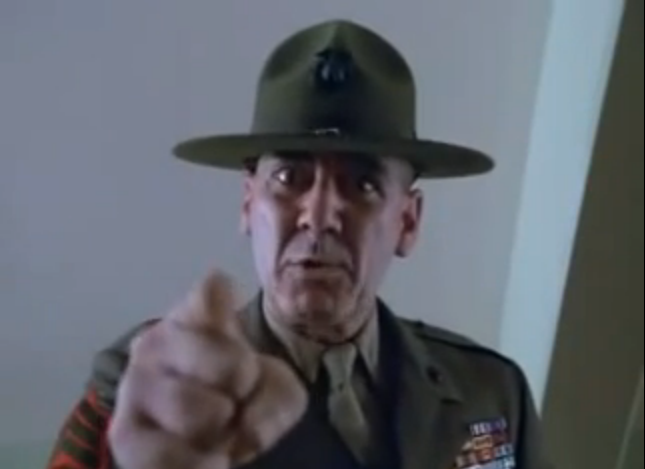 R Lee Ermey Yelling The gallery for -->...