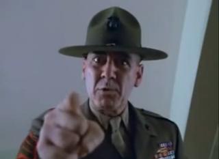 R Lee Ermey Full Metal Jacket Yelling Best Actor: Alternate ...