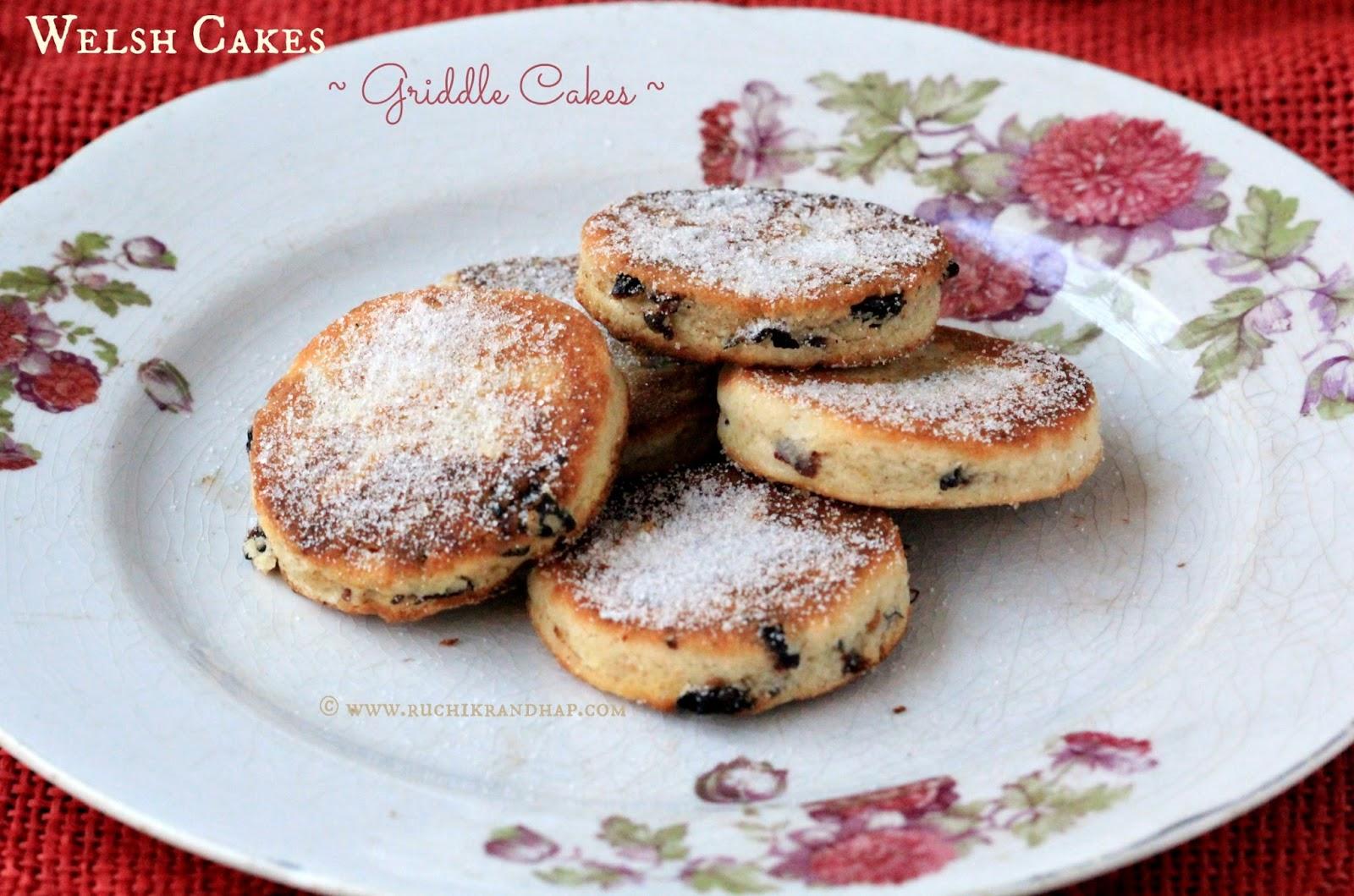 Welsh Cake Recipe No Lard