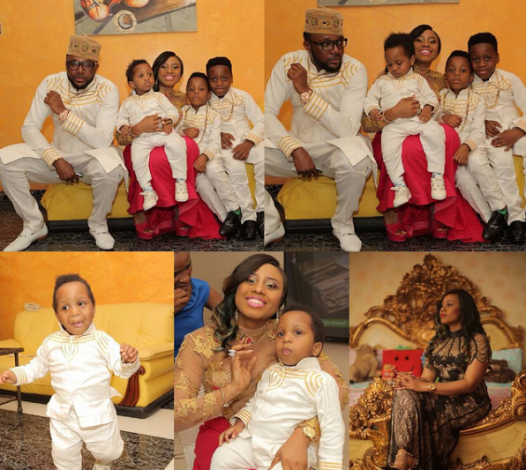 E-Money Five Star music CEO throws birthday party for wife(Photos)