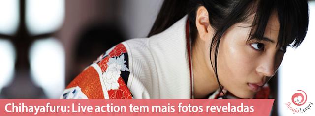 Chihayafuru: Live action tem mais fotos reveladas