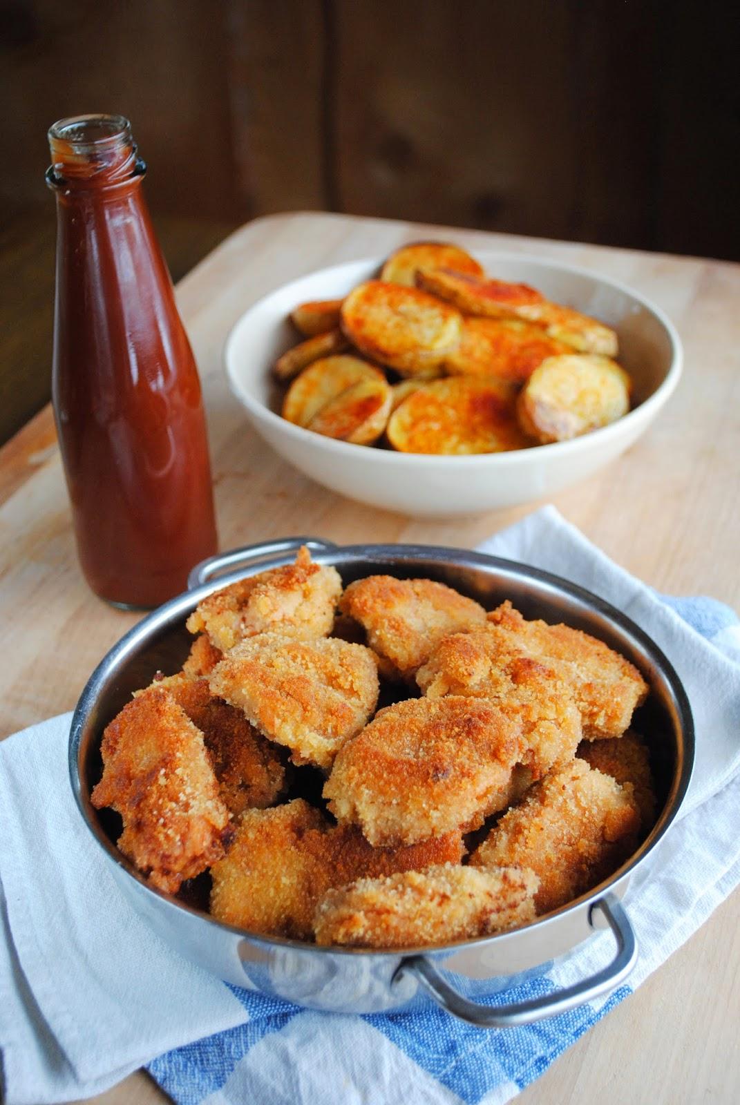 soja nuggets recept
